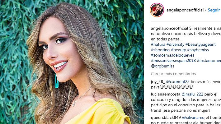Mujer transexual participará por primera vez en un Miss Universo: Conoce a Ángela Ponce, la nueva Miss España