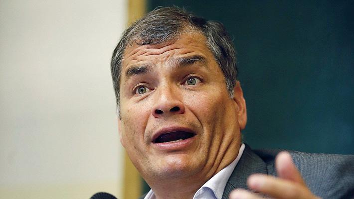 Justicia ecuatoriana emite orden de prisión y captura internacional contra ex Presidente Rafael Correa