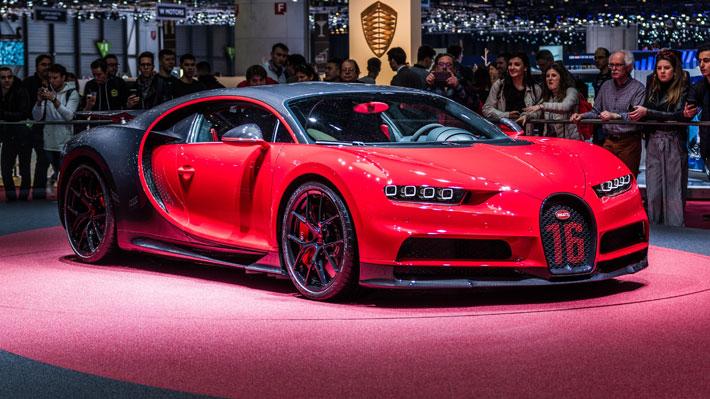 Bugatti prepara una versión más radical de su potente Chiron