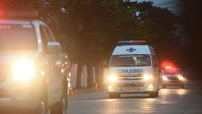 Luego de 3 días de labores, concluye con éxito el rescate de los 13 atrapados en Tailandia
