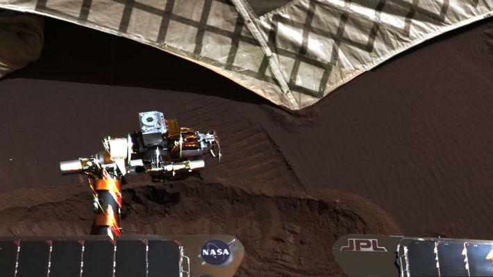 Rover Opportunity cumplió 15 en medio de la peor tormenta que ha vivido en Marte