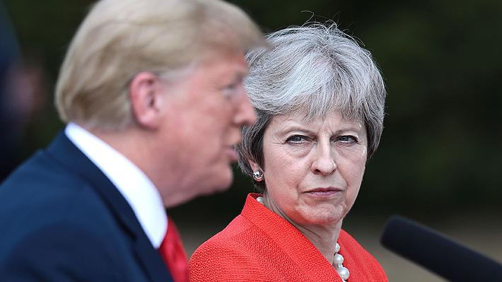 """May afirma que tras el Brexit buscará un acuerdo """"ambicioso"""" con Trump"""