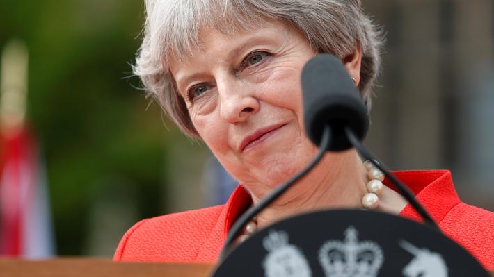 Theresa May advierte de que sin su plan existe riesgo de acabar sin Brexit