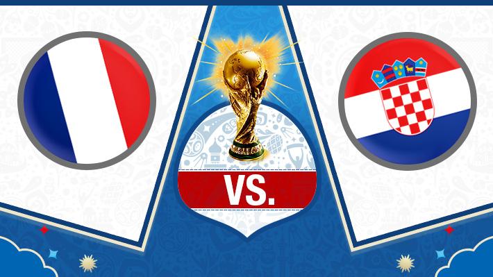 Así fue el triunfo con que Francia derrotó a Croacia y conquistó el Mundial