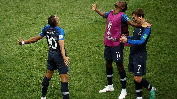 A punta de goles, Francia gana a Croacia y es campeón del mundo por segunda vez en la historia