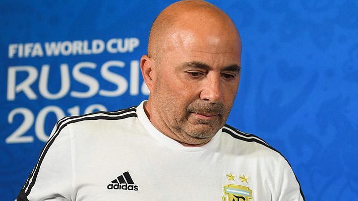 """Se acaba la teleserie: La AFA oficializa que Sampaoli deja la selección de Argentina por """"mutuo acuerdo"""""""