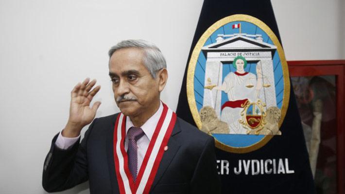 Presidente de la Corte Suprema peruana renuncia en medio de escándalo de corrupción en el Poder Judicial