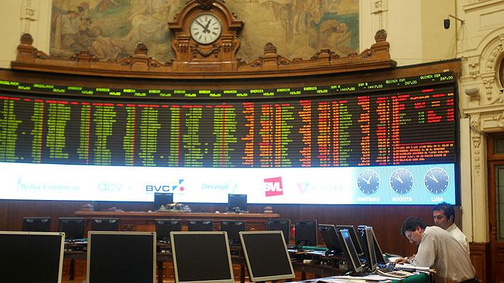 Pesimismo por la baja del cobre golpea a la Bolsa de Santiago
