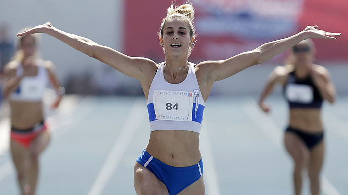 Isidora Jiménez es de oro: Arrasó en los 100 metros en los Panamericanos Universitarios de Sao Paulo