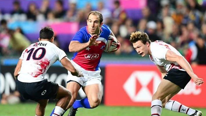 """Los """"Cóndores"""" brillan y se quedan con el título del bowl en el Mundial de Rugby seven al vencer a Hong Kong"""