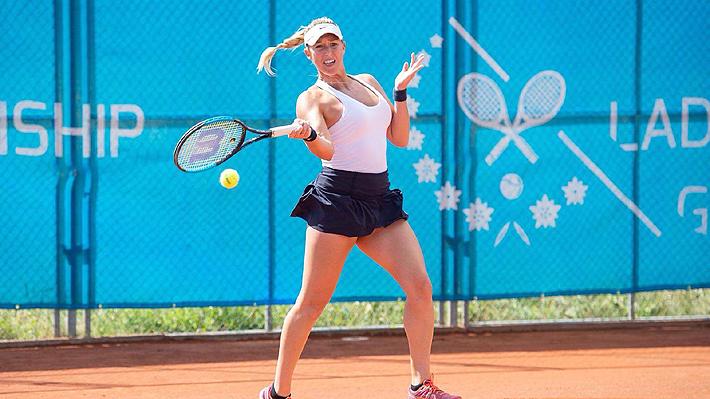 Alexa Guarachi, la tenista que sacrificó beneficios para representar a Chile y que acaba de brillar en la WTA