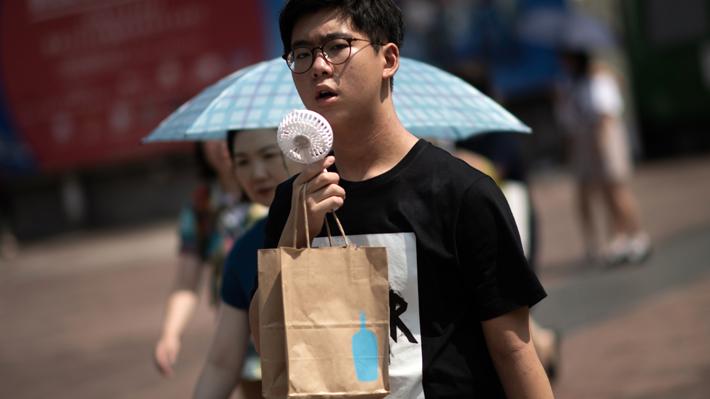 Ola de calor de Japón deja 80 muertos y llena los hospitales
