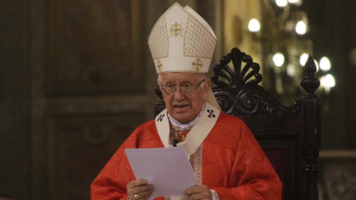 Cardenal Ezzati es citado a declarar como imputado por presunto encubrimiento de abusos