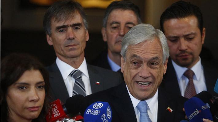 """Piñera y rebaja en nota crediticia: """"Es una decisión que se toma en base a hechos ocurridos en el gobierno anterior"""""""