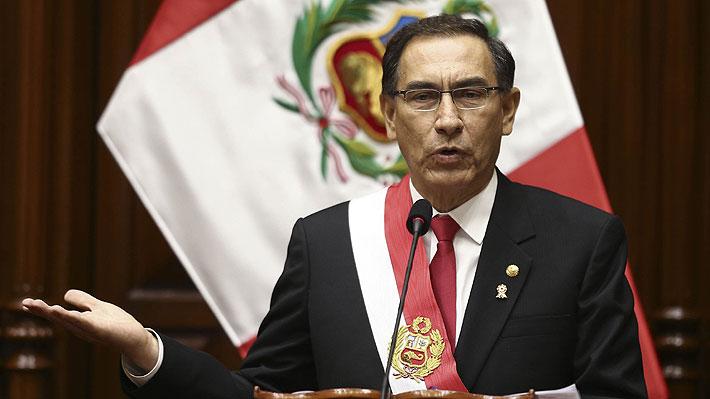 Presidente de Perú anuncia referéndum sobre reformas judiciales y políticas tras casos de corrupción