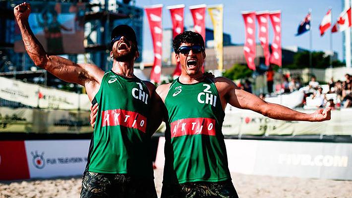 Primos Grimalt consiguieron el oro en el circuito mundial de vóleibol playa en Japón