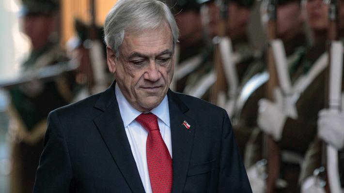 Cadem: Piñera registra peor aprobación de su segundo Gobierno en semana marcada por dichos de Varela