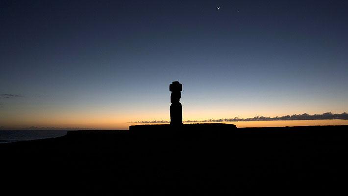 Las cifras de viajes y población que obligaron a restringir la estadía de los turistas en Isla de Pascua