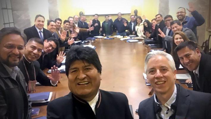 Evo Morales le dice adiós al Palacio Quemado y se traslada a polémica nueva casa de Gobierno
