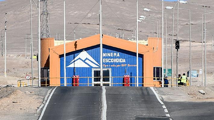 Minera Escondida mantiene postura y advierte que su oferta estará vigente hasta el domingo