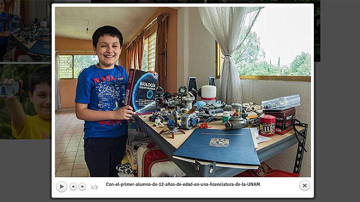 Niño de 12 años es admitido para estudiar física biomédica en una universidad mexicana
