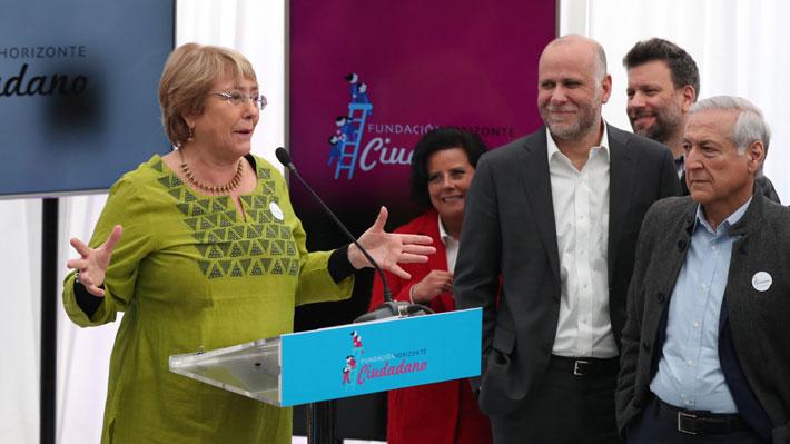 Horizonte Ciudadano, el nuevo referente de Bachelet: ¿Cómo ven en La Moneda la fundación de la ex Presidenta?