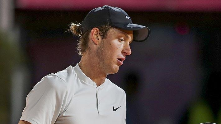 Los errores no forzados y el cansancio le pasaron la cuenta a Jarry que quedó fuera de la final del ATP de Kitzbuhel