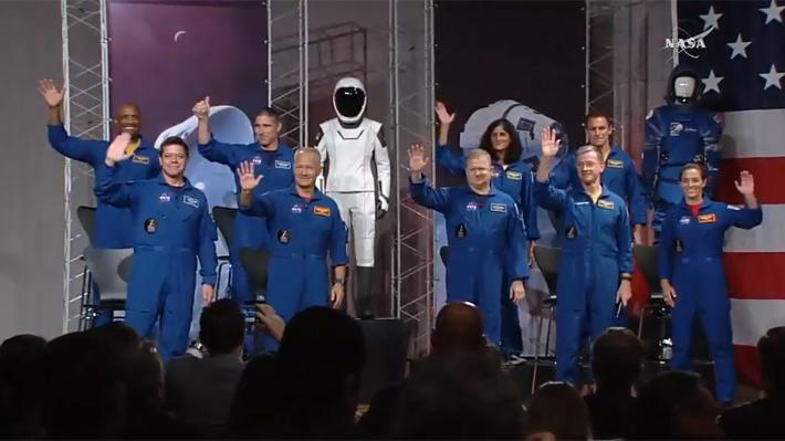 Estos son los cuatro astronautas que viajarán a la Estación Espacial en vuelos comerciales desde EE.UU.
