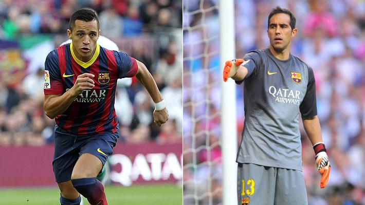 Los títulos y distinciones que ganaron y cómo les fue a los dos chilenos que estuvieron antes que Vidal en el Barcelona