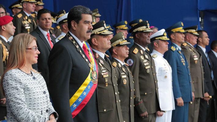 Gobierno venezolano asegura que incidente en Caracas fue un atentado contra el Presidente Maduro