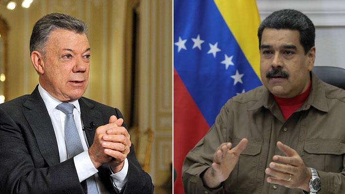 """Gobierno de Colombia califica como """"absurda"""" acusación de Maduro contra Santos por incidente en Caracas"""