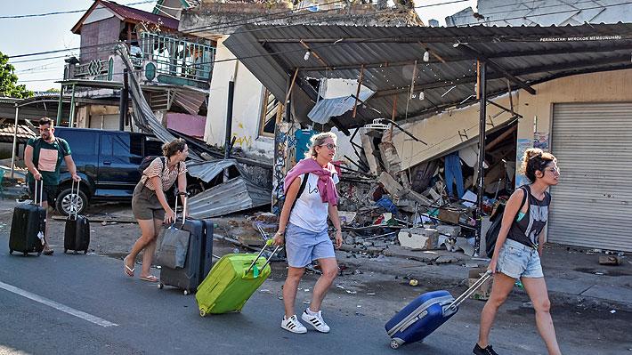 Terremoto en Indonesia: Comienza la evacuación de 900 turistas de islas vecinas de Lombok