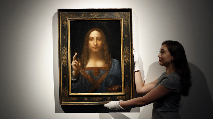 """""""Salvator Mundi"""", el cuadro más caro de la historia, podría no haber sido pintado por Leonardo da Vinci"""