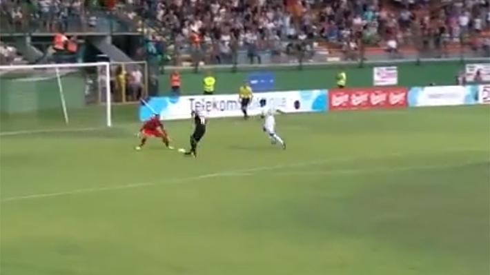 Video: El espectacular golazo de rabona en la liga de Eslovenia que está dando la vuelta al mundo