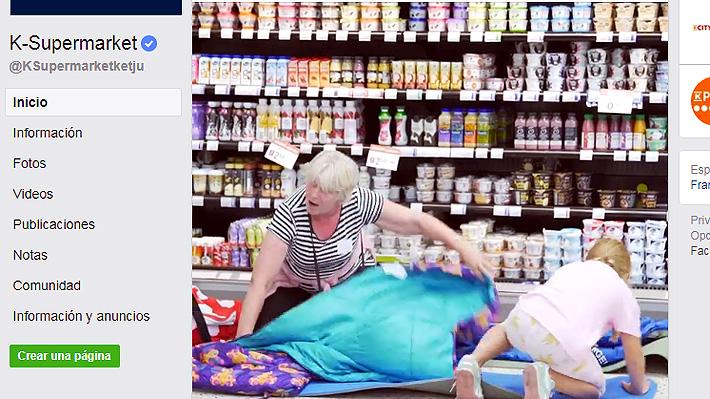 Dormir en el supermercado: La curiosa invitación de una cadena finlandesa para capear el calor