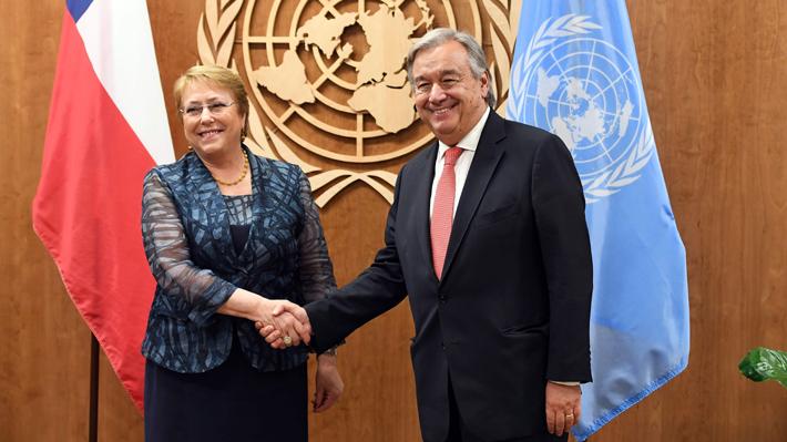 Secretario General de la ONU designa a Bachelet como nueva Alta Comisionada para los DD.HH.