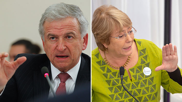 """Larraín a Bachelet: """"Si uno llama a esto 'economía debilucha' ¿cómo calificamos lo que ocurrió en los últimos 4 años?"""""""