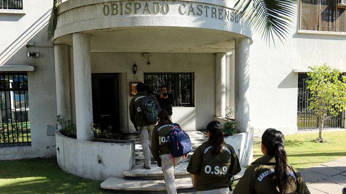 Fiscalía y OS-9 allanan las oficinas del Obispado Castrense en busca de documentos eclesiásticos