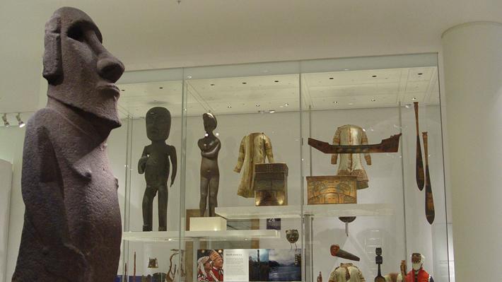 Museo británico dice que moai es una de sus piezas más vistas y que no hay petición para devolverlo