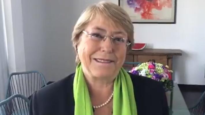 """Bachelet se declara """"profundamente honrada"""" tras confirmación de su nuevo cargo en la ONU"""