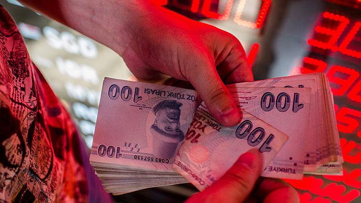 Nueva crisis comercial: Desplome de la lira turca sacude a los mercados mundiales