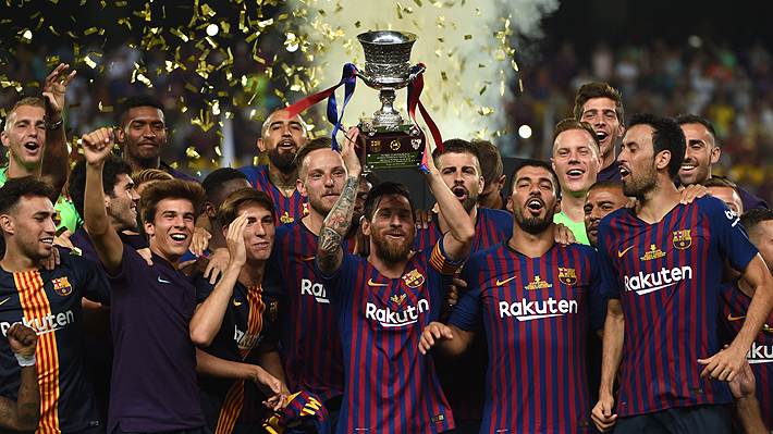 Resultado de imagen para barcelona supercopa