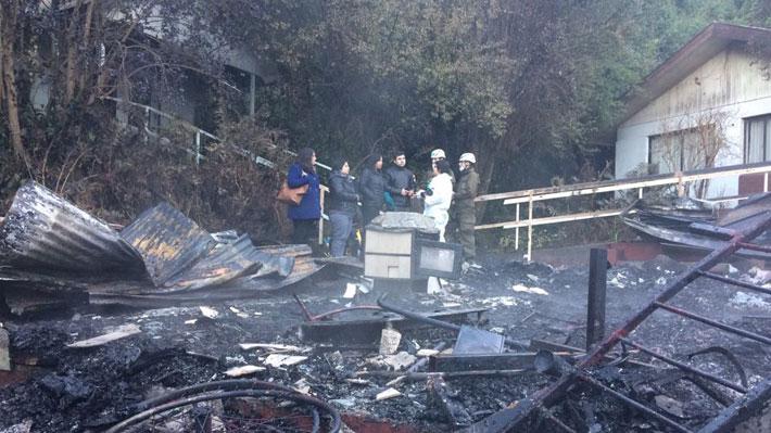 Corto circuito o una estufa: Las primeras hipótesis de la fiscalía por incendio en hogar de ancianos en Chiguayante