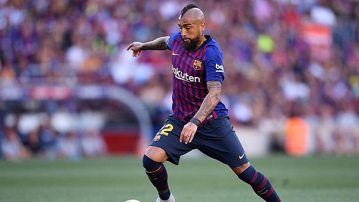 """DT del Barcelona no asegura titularidad de Vidal para este sábado y advierte que """"se debe poner bien para jugar"""""""