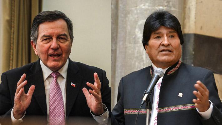 """""""Declaraciones demagógicas"""": Ampuero responde a Evo por asegurar que la bandera boliviana """"flameará pronto en las orillas del pacífico"""""""