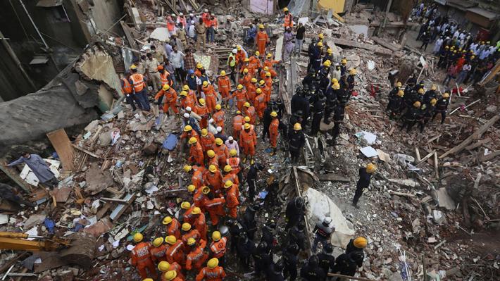 Las inundaciones en India ya acumulan 357 muertos desde el inicio del monzón