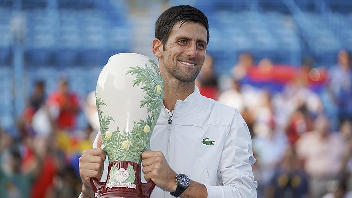 Djokovic derrota a Federer en la final de Cincinnati y se convierte en el primer tenista en ganar los nueve Masters 1000