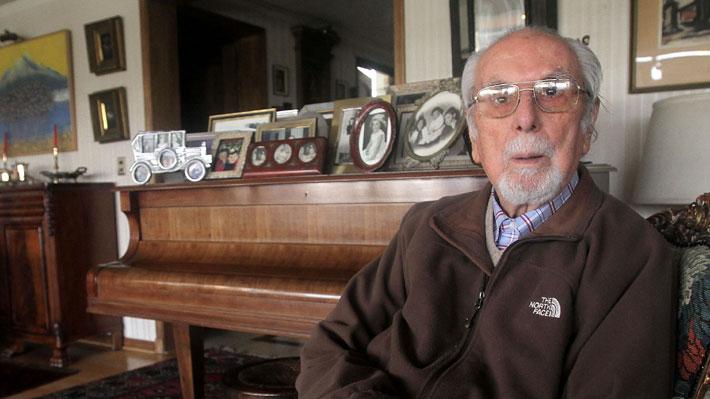 A los 93 años, fallece el ex diputado DC y defensor de los DD.HH. Andrés Aylwin