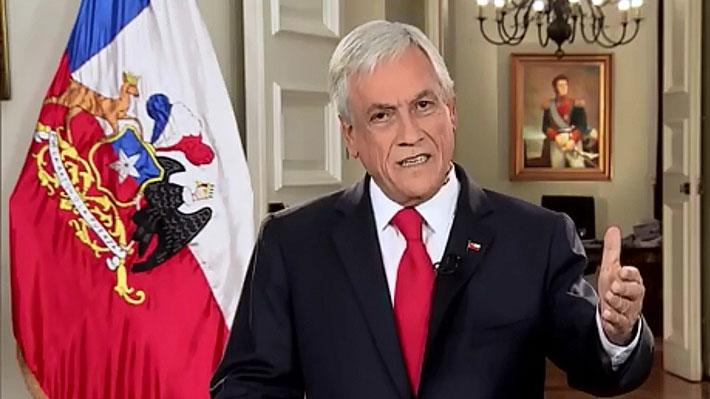 Reforma tributaria: Piñera anuncia integración del sistema, impuestos a la economía digital e incentivos a la compra de vivienda