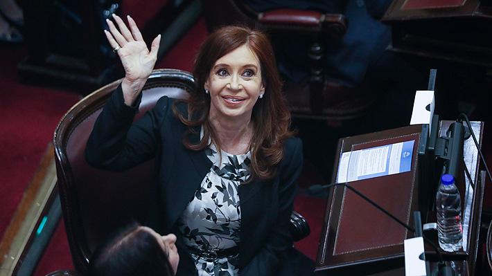 Senado argentino debate sobre petición de allanar propiedades de Cristina Fernández